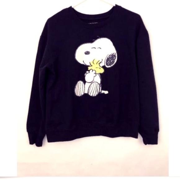 9dee17d97 Snoopy Woodstock Sweatshirt Peanuts Women's Large.  M_5ab3ff7d1dffdafec9332b59